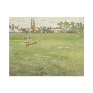 James Abbott McNeill Whistler - Green and Silver Canvas Print