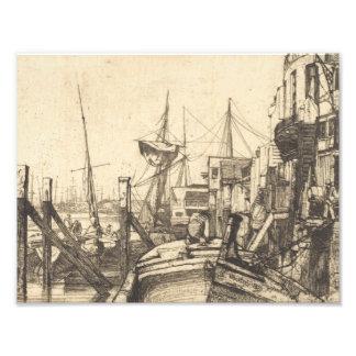 James Abbott McNeill Whistler - Limehouse Photo Print