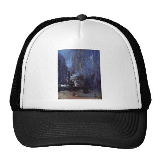 James Abbott McNeill Whistler - Night in Black and Trucker Hat