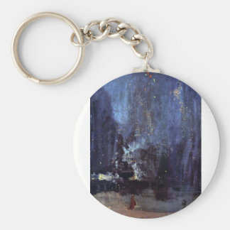 James Abbott McNeill Whistler - Night in Black and Keychains