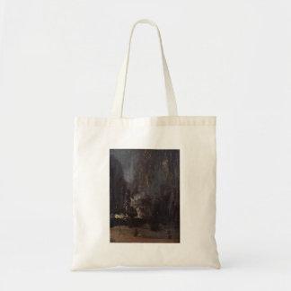 James Abbott McNeill Whistler - Nocturne in black Tote Bag