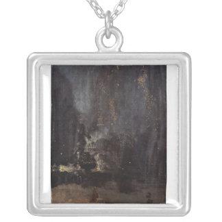 James Abbott McNeill Whistler - Nocturne in black Pendants