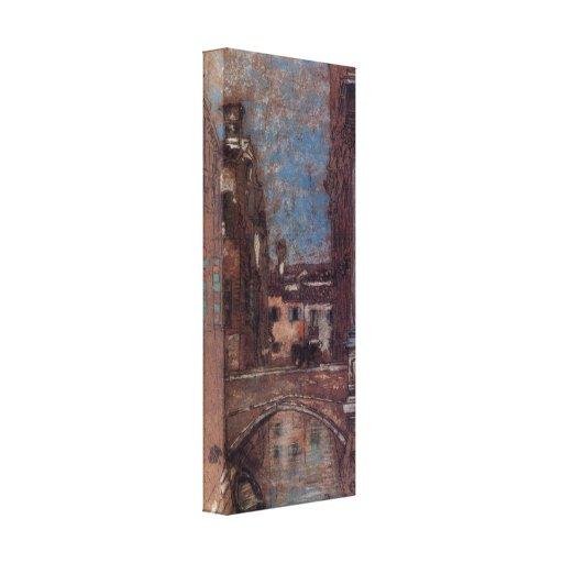 James Abbott McNeill Whistler - San Rocco Canvas Print