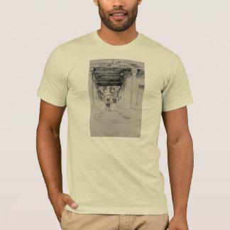 James Abbott McNeill Whistler - Venetian Court T-Shirt