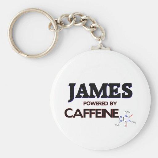 James accionó por el cafeína llavero personalizado