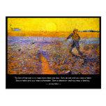 James Allen: The Law of Harvest Postcard
