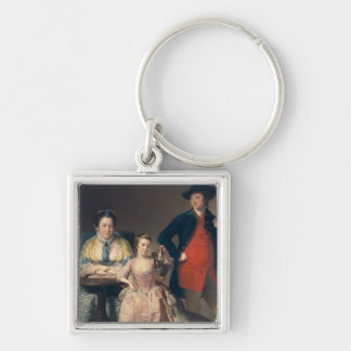 James and Mary Shuttleworth Keychain