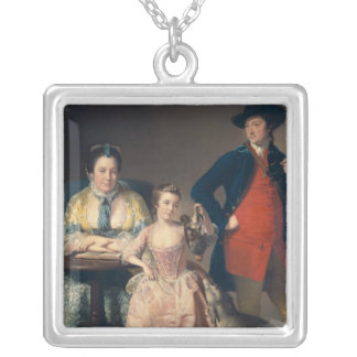 James and Mary Shuttleworth Silver Plated Necklace