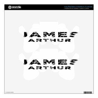 James Arthur Decal For PS3 Controller
