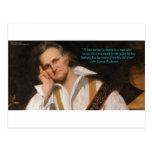 "James Audubon ""True Conservationist"" Wisdom Gifts Postcard"