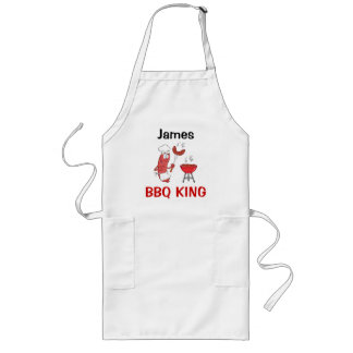 James Barbecue King Long Apron