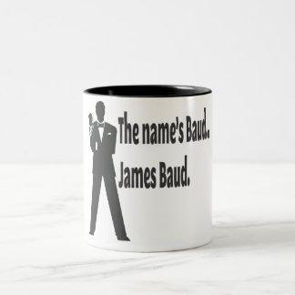 James Baud Two-Tone Coffee Mug