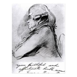 James Boswell , c.1790-95 Postcard