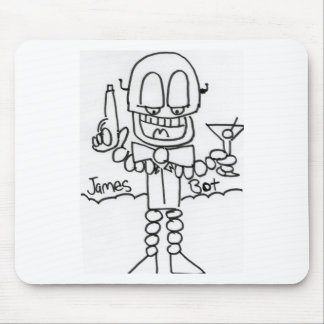 James   Bot Mouse Pad