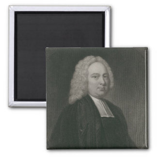 James Bradley, engraved by Edward Scriven 2 Inch Square Magnet