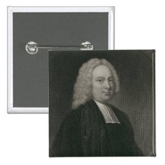 James Bradley, engraved by Edward Scriven Pinback Button