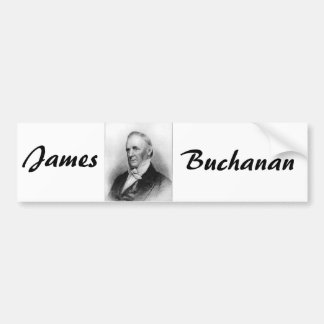 James Buchanan 15 Pegatina Para Auto