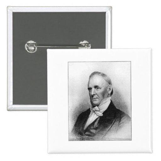James Buchanan 15th President 2 Inch Square Button