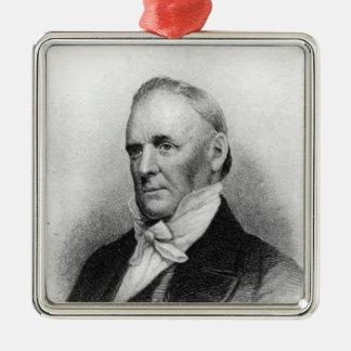 James Buchanan 15th President Metal Ornament