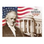 James Buchanan - 15th President of the U.S. Postcard