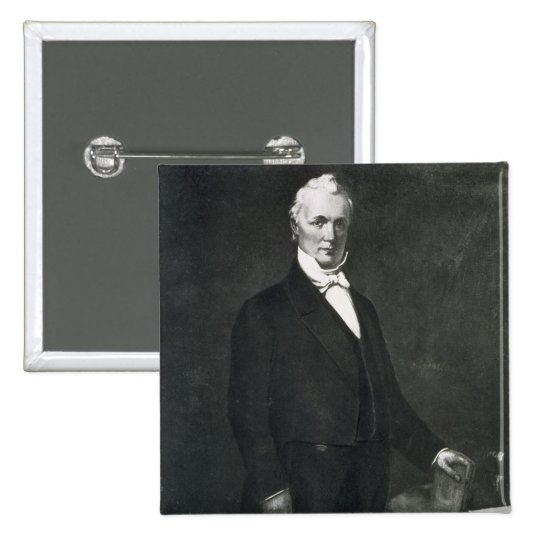 James Buchanan, 15th President of the United State Button