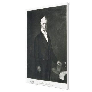 James Buchanan, 15th President of the United State Canvas Print
