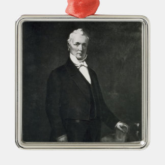 James Buchanan, 15th President of the United State Metal Ornament