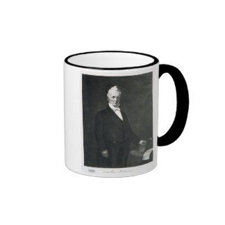 James Buchanan, 15th President of the United State Ringer Coffee Mug