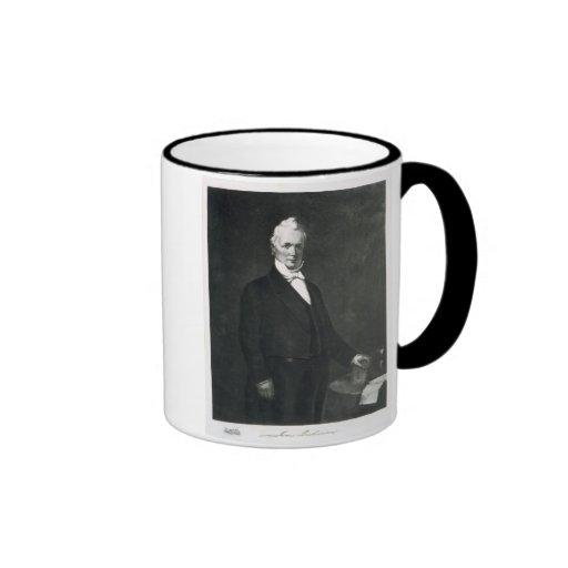 James Buchanan, 15th President of the United State Ringer Coffee Mug