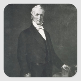 James Buchanan, 15th President of the United State Square Sticker