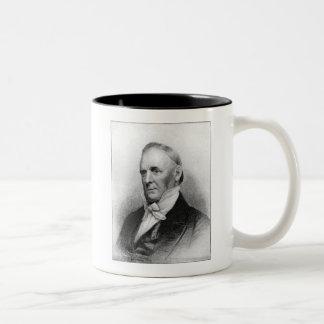 James Buchanan 15th President Two-Tone Coffee Mug