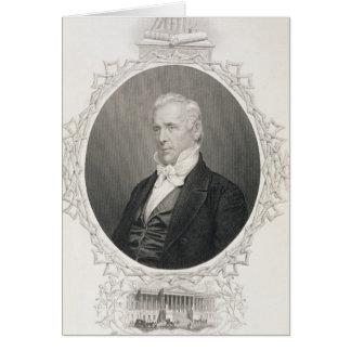 James Buchanan Card