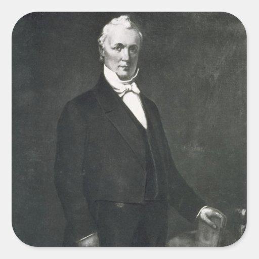 James Buchanan, décimo quinto presidente del estad Colcomanias Cuadradas