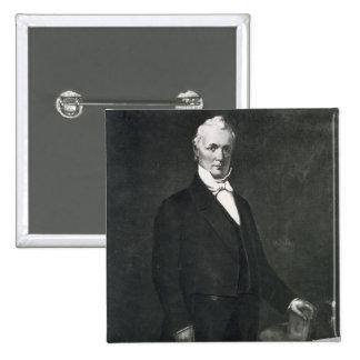 James Buchanan décimo quinto presidente del estad Pin