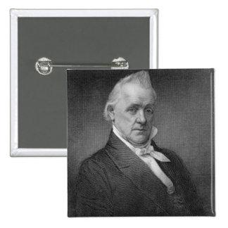 James Buchanan, engraved by Henry Bryan Hall (1800 Pins