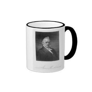 James Buchanan, grabado por Henry Bryan Pasillo (1 Taza De Café