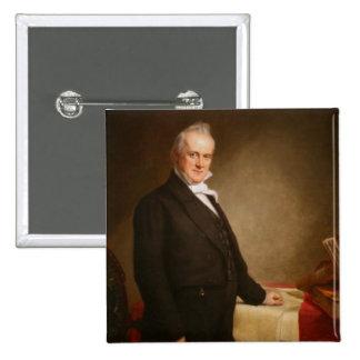James Buchanan Pin Cuadrado