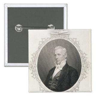 James Buchanan Pinback Button