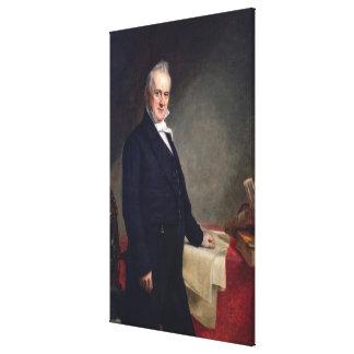 JAMES BUCHANAN Porrtrait de George P.A. Healy Impresiones En Lona Estiradas