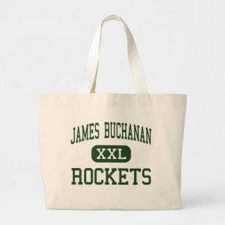 James Buchanan - Rockets - High - Mercersburg Canvas Bags