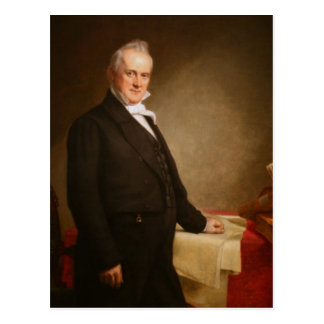 James Buchanan Tarjeta Postal