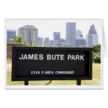 James Bute Park Greeting Card