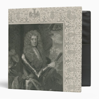 James Butler, 12th Earl and 1st Duke of 3 Ring Binder