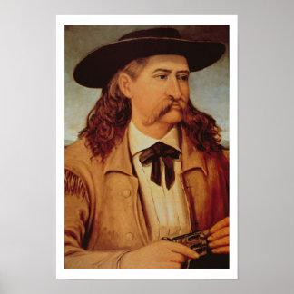 James Butler 'Wild Bill' Hickok (1837-76) 1874 (oi Poster