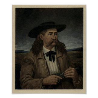 James Butler Wild Bill Hickok Poster