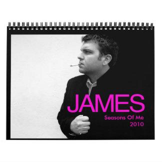 James Calendar