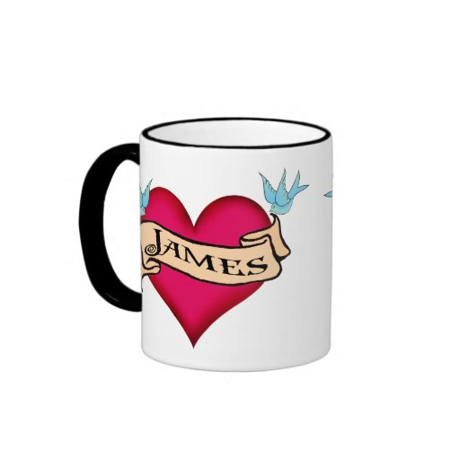 James - camisetas y regalos de encargo del tatuaje tazas de café