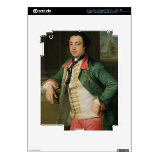 James Caulfield (1728-99), 4to vizconde Charlemont iPad 3 Pegatinas Skins