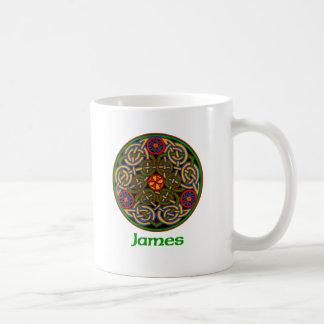 James Celtic Knot Coffee Mug