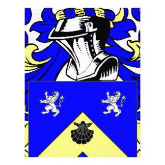 James Coat of Arms Customized Letterhead